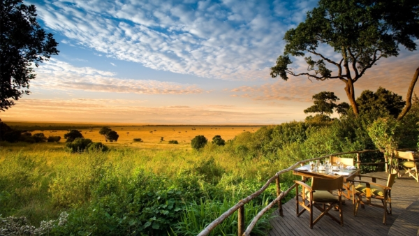 guest-area-with-golden-sunrise-at-andbeyond-bateleur-camp-on-a-luxury-kenya-safari1