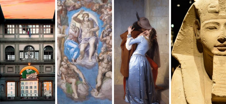 visitare i musei italiani online